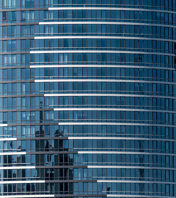Close up of the Elipse Building