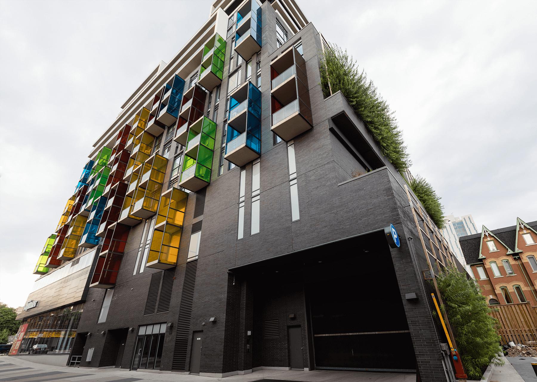 The College Condominium Building