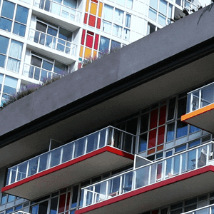 Closeup of Concord City Building