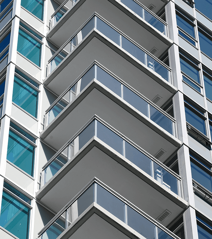 Close up of Mandarin Residences