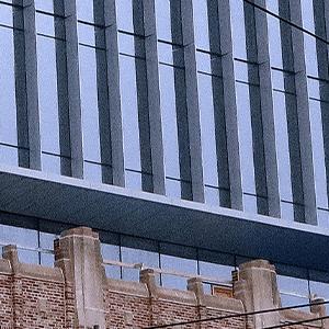 Close Up of Block 8 Building