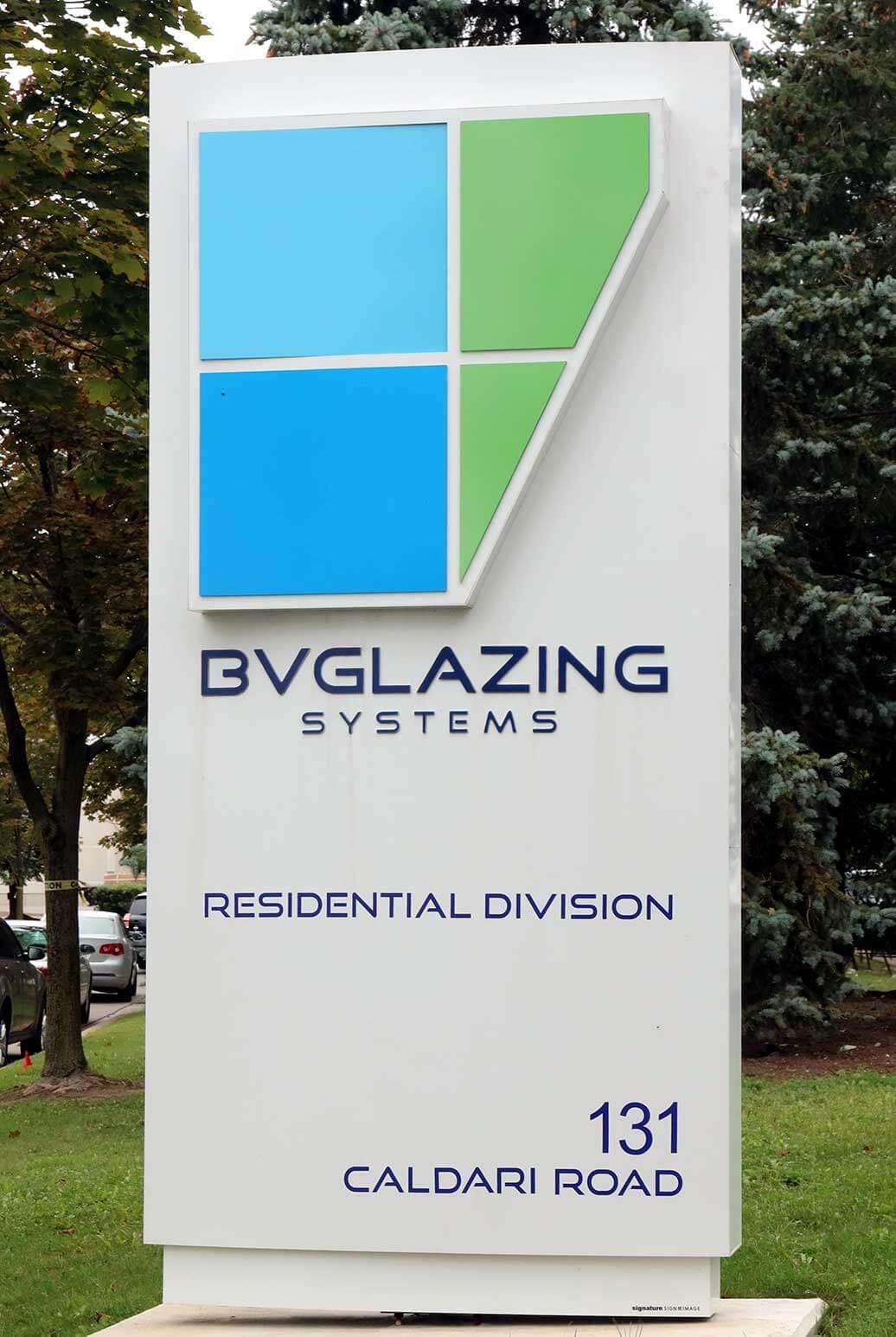 BVGlazing Building Sign