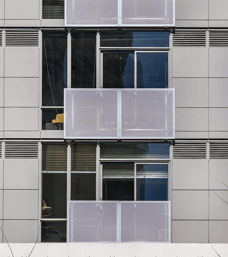 Alley 111 building closeup
