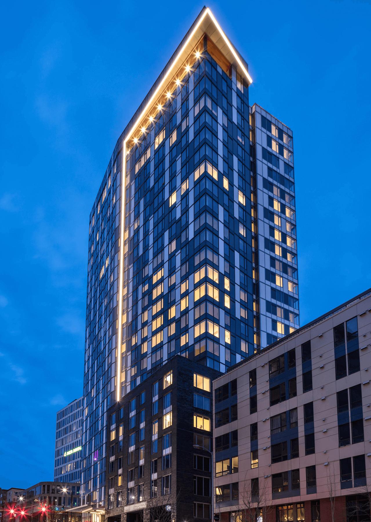 Ascent South Lake Union building