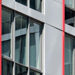 close up of Continuum White Plains building