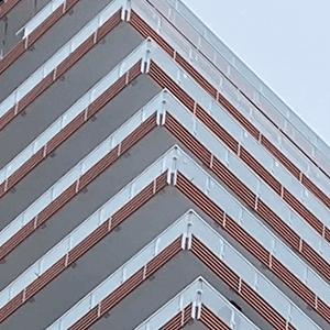 Closeup of building